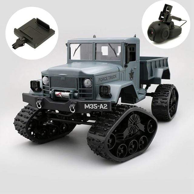 WiFi Remote Control Military Trucks with Camera