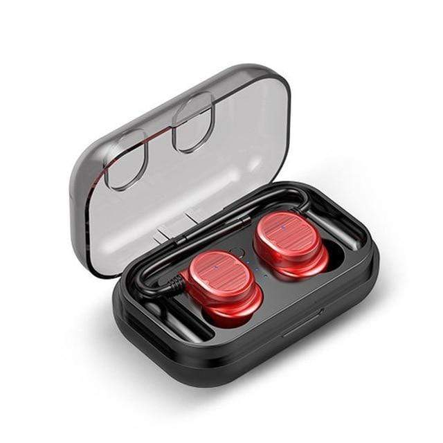 Binaural Bluetooth Earbuds