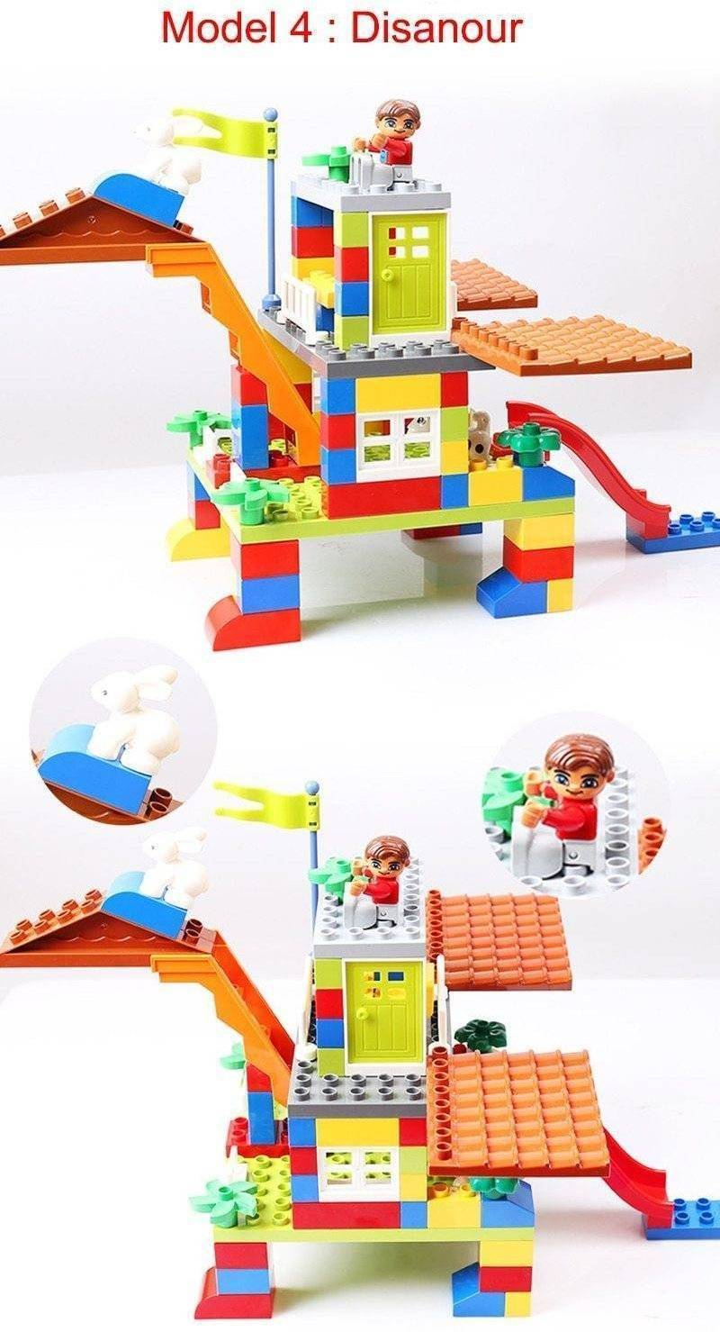 Colorful Lego Castle For Kids