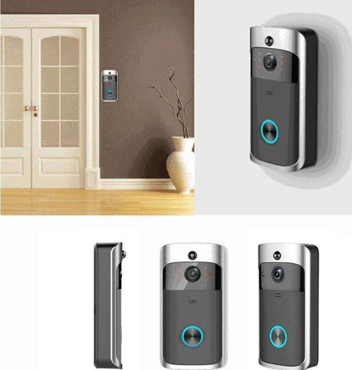 Smart WIFI Doorbell with Security Camera and instant Video Call Action