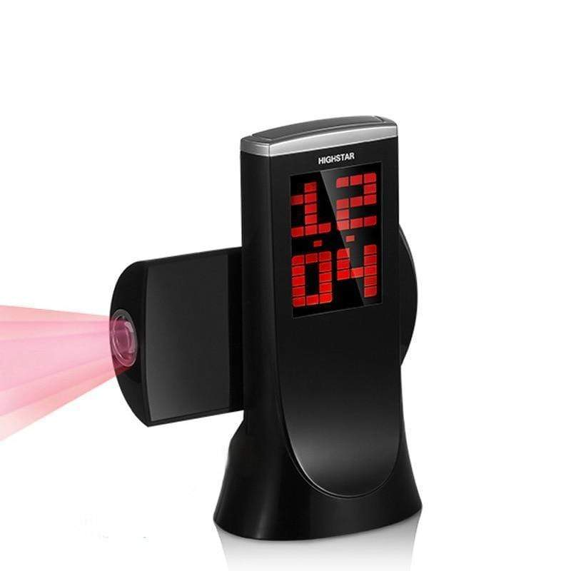 Rotating Projection Alarm Clock