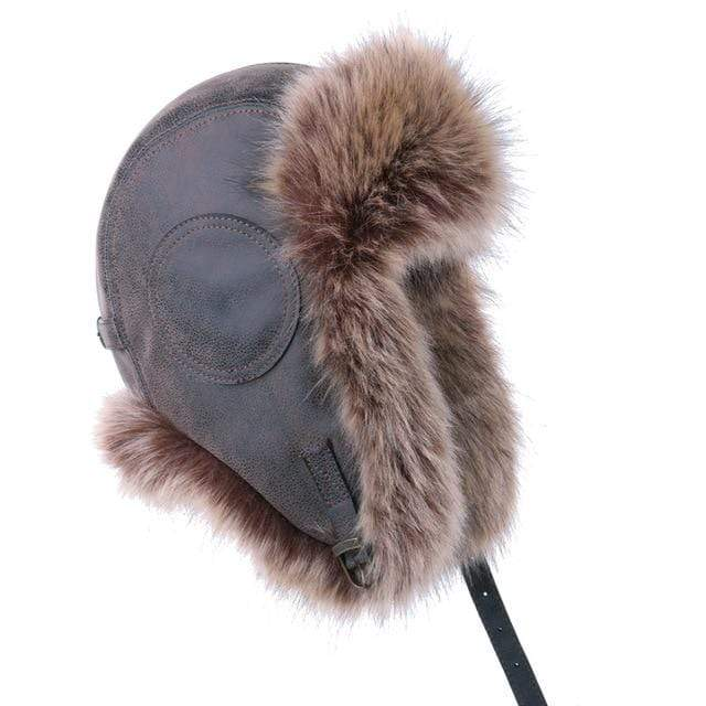 Vintage Style Bomber Hat