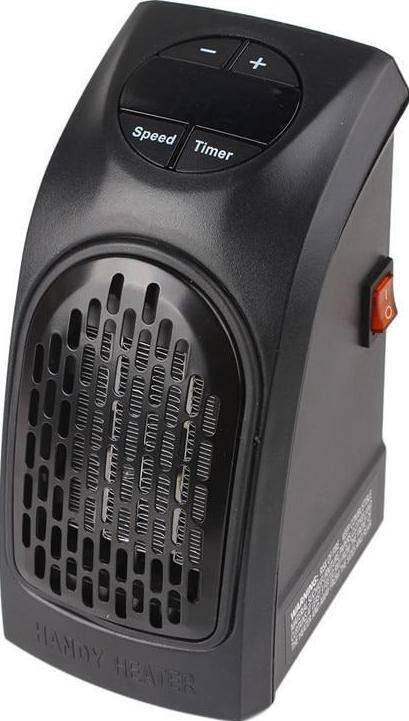 Electric Wall Heater Mini Portable Plug-in Personal Heater