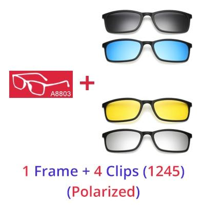 Magnetic Snap On Sunglasses