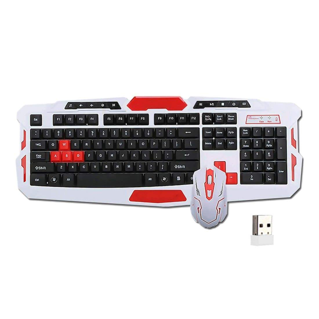 Anti-Ghosting Gaming Keyboard with Mouse