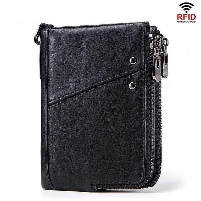 Women's Leather RFID Mini Wallet