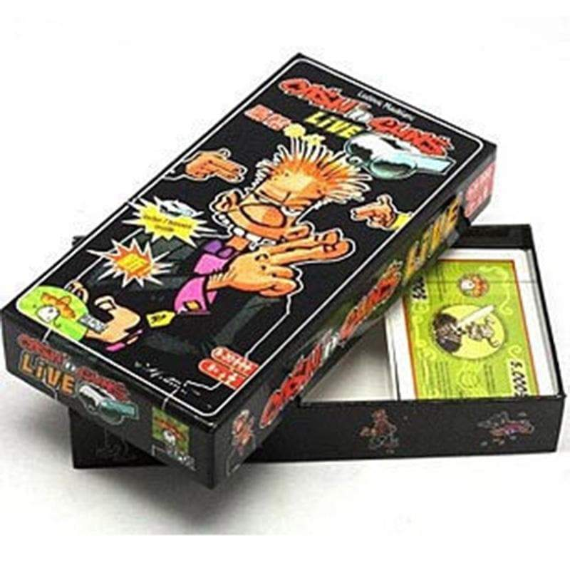 Funny Cash and Gun Party Board Game