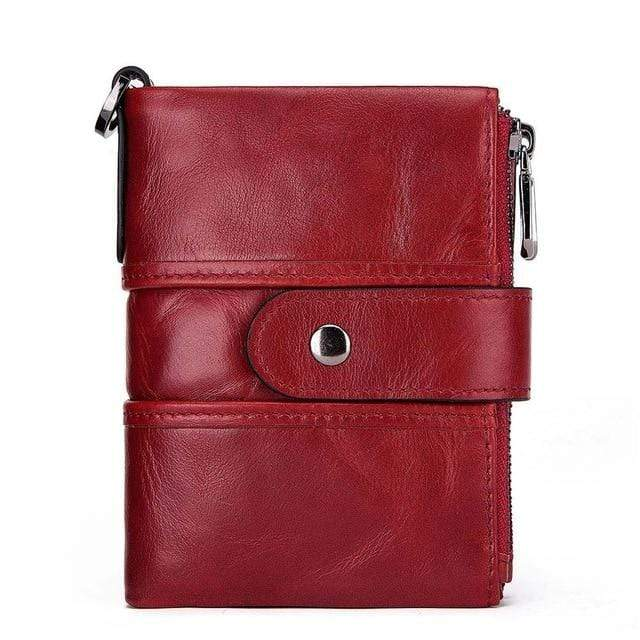 Men's Leather RFID Coin Purse