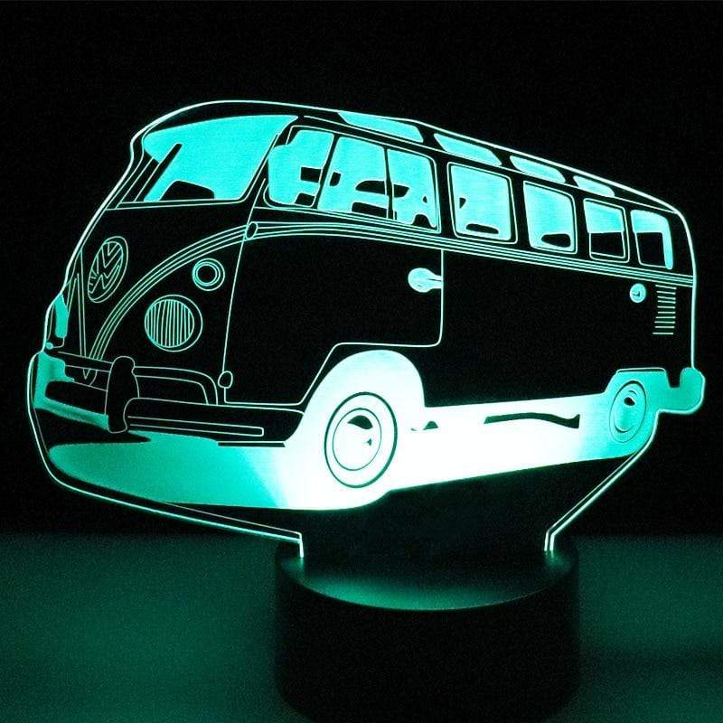 3D Bus LED Night Light
