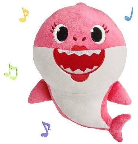 Creative Singing Shark Shaped Plush Toy