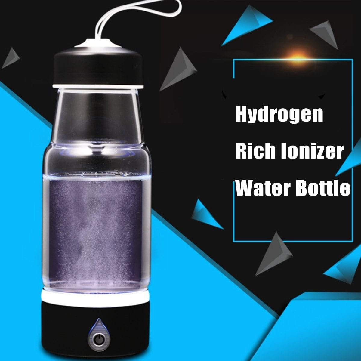 Rechargeable Hydrogen Rich Water Bottle