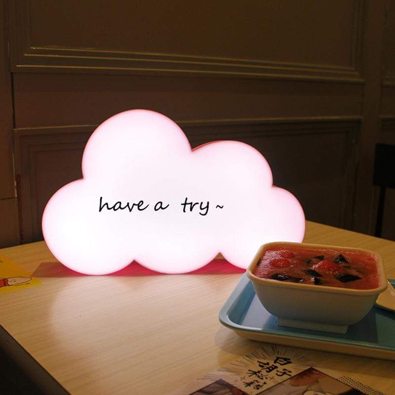 Cloud Message Box LED Night Light