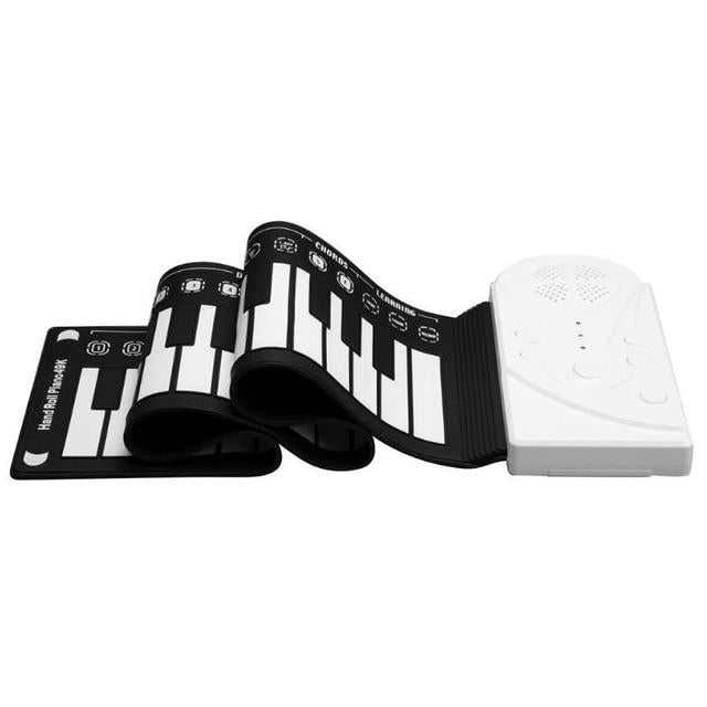 Piano Roll Up Portable Electronic Keyboard