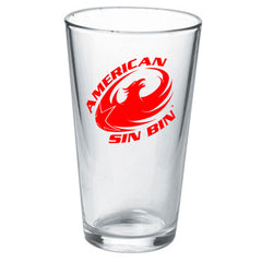 Red 20oz. Imperial Glass