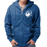 Blue Live For Rugby Hoodie