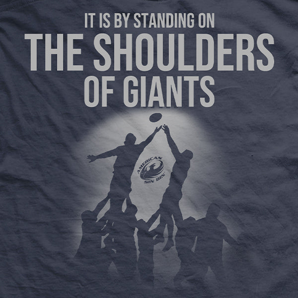On The Shoulders of Giants T-Shirt