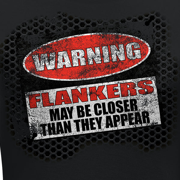 Womens Warning: Flankers Tee
