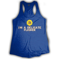 Delicate Flower Women's Tank Top