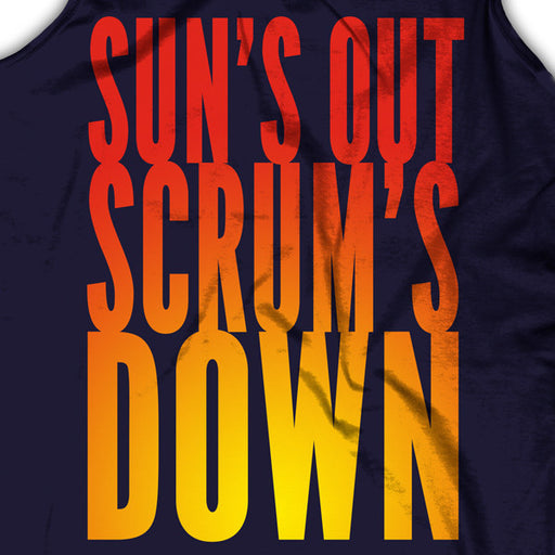 Sun's Out, Scrum Down Tank Top