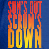 Sun's Out, Scrums Down Tank