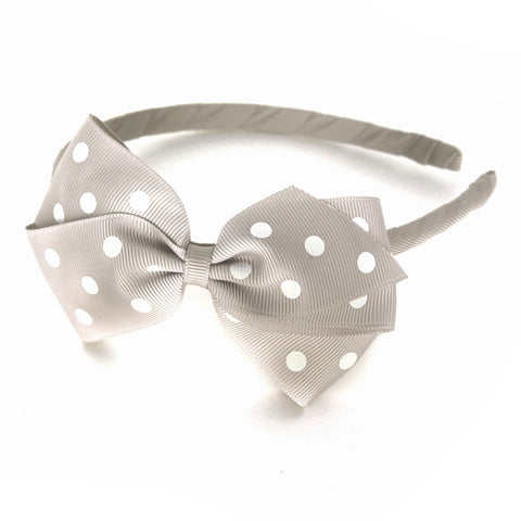 Large Carmandy Polka Dot Alice Band