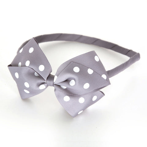 Large Thistle Polka Dot Alice Band