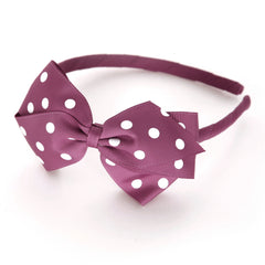 Large Victorian Rose Polka Dot Alice Band
