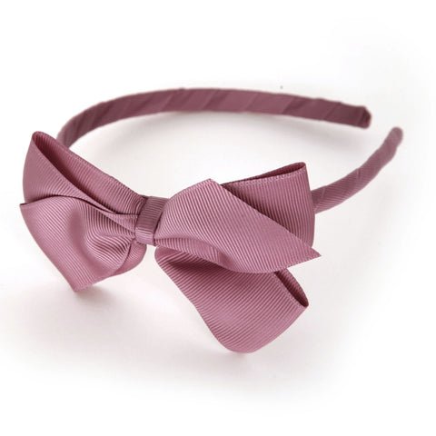 Large Rosy Mauve Alice Band