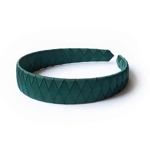 Large Spruce Braided Alice Band