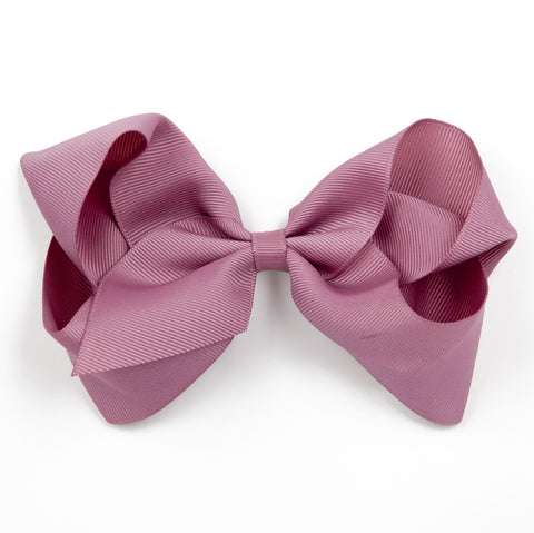 Extra Large Rosy Mauve Hair Clip