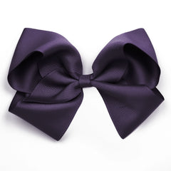 Extra Large Shadow Purple Hair Clip