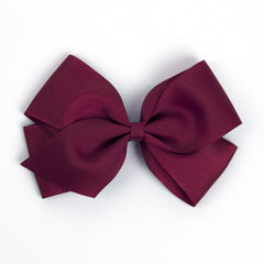Large Wine Hair Clip