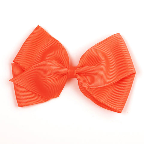 Large Neon Orange Hair Clip
