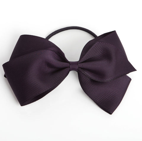 Large Shadow Purple Hair Elastic
