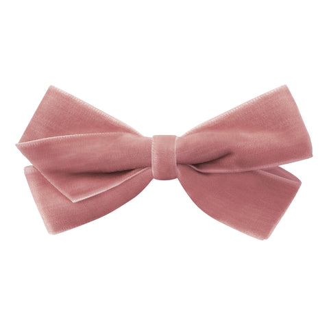 Medium Dusty Rose Velvet Hair Clip