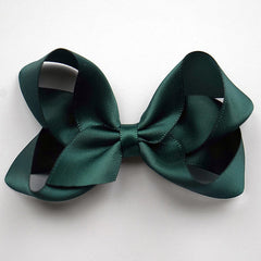 Medium Spruce Satin Hair Clip