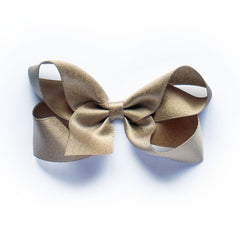 Medium Bronze Satin Hair Clip