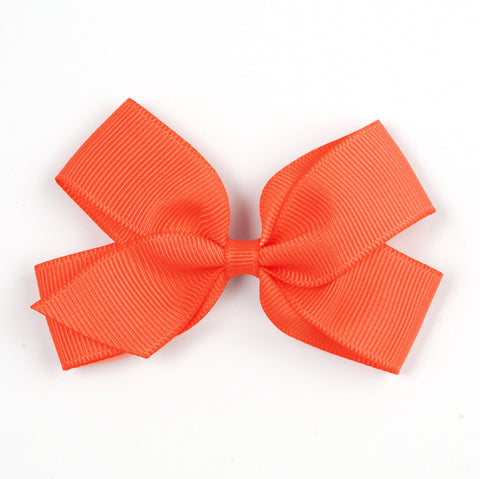 Medium Neon Orange Hair Clip