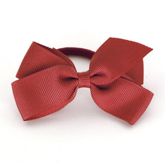 Medium Poppy Red Hair Elastic