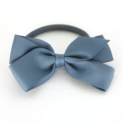 Medium Antique Blue Hair Elastic