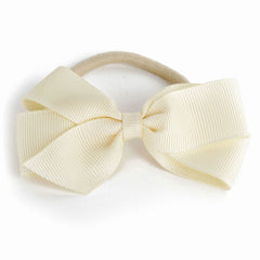 Medium Ivory Hair Elastic