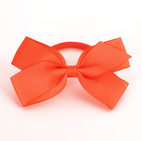 Medium Neon Orange Hair Elastic