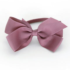 Medium Rosy Mauve Hair Elastic