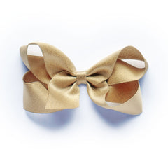 Medium Gold Satin Hair Clip