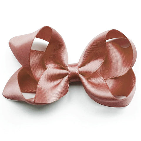 Medium Sweet Nectar Satin Hair Clip