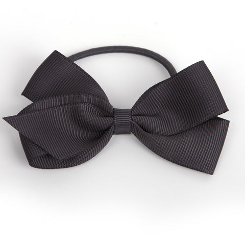 Medium Charcoal Hair Elastic
