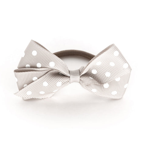 Medium Carmandy Polka Dot Hair Elastic