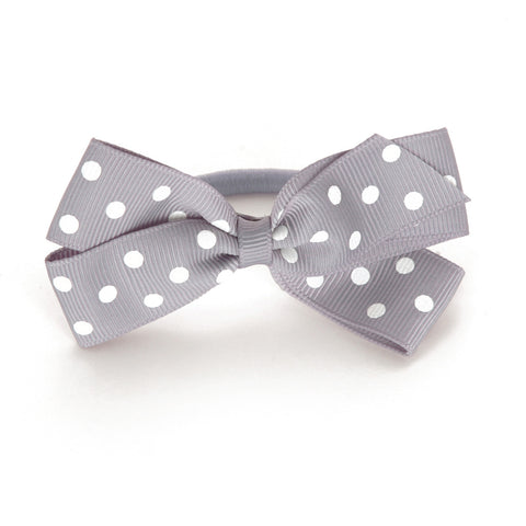 Medium Thistle Polka Dot Hair Elastic