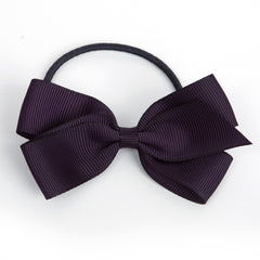 Medium Shadow Purple Hair Elastic