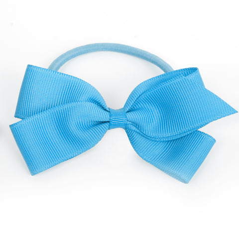 Medium Vivid Blue Hair Elastic